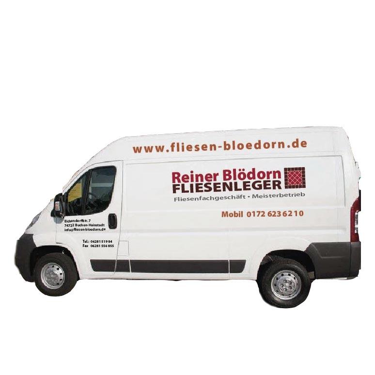 Transporter Blödorn Fliesenleger